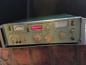 Boonton 102d Fm am Signal Generator Untested Serial No 121