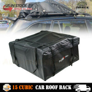 20 Cubic Car Roof Rack Cargo Carrier Car Suv Van Top Luggage Bag Storage Travel