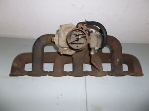 1962 Studebaker Lark Intake Exhaust Manifolds And Carburetor