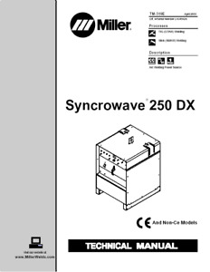 Miller Syncrowave 250 Dx Service Technical Manual
