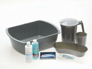 Medline General Admission Kit Packed In A Wash Basin Shrink wrapped 12 Kits