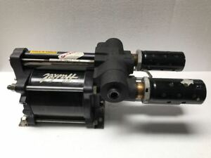 Haskel Gsf 60 Air Driven Fluid Pump 7500 Psi Nom Ratio 60 free Shipping 2