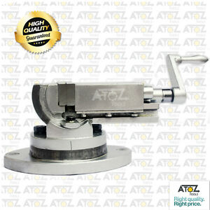 2 Precision Milling Vise 2 Way Swivel Base Tilting Vice