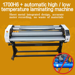 Upgraded 67 1650mm Electric Lifting Cot Wide Format Hot Cold Laminator Machine