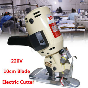 100mm 4 Blade Electric Cloth Cutter Cutting Machine Industrial Handheld Fabric