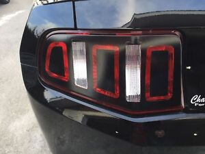 Tail Light Conversion Sticker Decal 2013 Style Set For 2010 2011 2012 Mustang