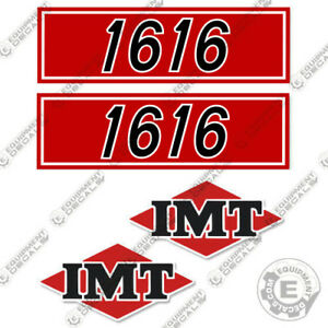 Imt Truck Crane 1616 Series Decal Kit