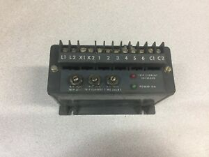 Used Allen Bradley 42 5 0 Amp 120vac Ac Current Relay 809s ab100a1