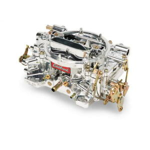Edelbrock Carburetor 140549 Remanufactured Performer 600cfm Vacuum Endurashine