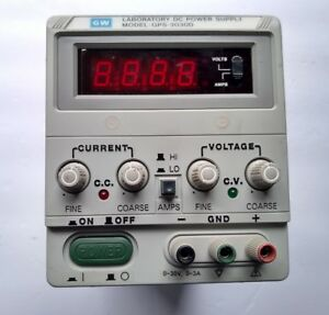 Gw Laboratory Dc Power Supply Model Gps 3030d Working