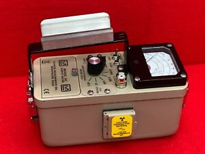 Ludlum Model 14c Survey Meter With Internal Gm Detector And Check Source