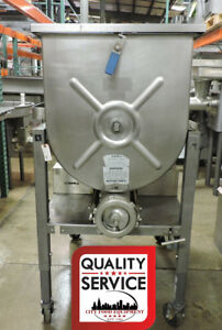 Hollymatic Gmg 180a 7 5 Hp Commercial Meat Mixer Grinder