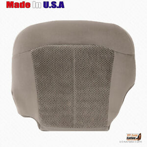 Fits 1999 2000 2001 2002 Chevy Silverado Z71 Driver Bottom Cloth Seat Cover Tan
