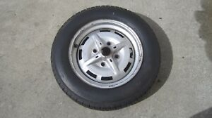 Original 1974 1976 Porsche 914 4 Lug 165 15 Spare Tire 15 X 5 1 2 Wheel