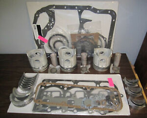 Ford Tractor Engine Kit 158 Diesel 231 2810 3cyl