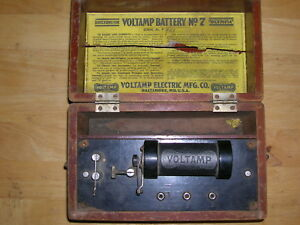 Voltamp Battery No 7 Quack Device Shock Therapy