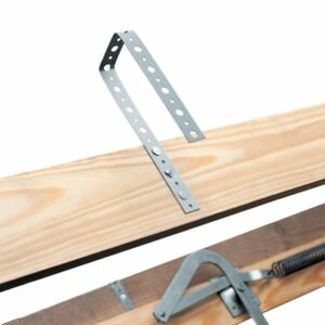 Louisville Ladder Al228p Aluminum Attic Ladder With 350 Lb Load Capacity And