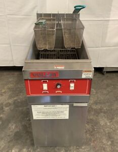 Vulcan Electric Deep Fryer Model 1erd50 480 Volts 3 Phase Clean Lightly Used
