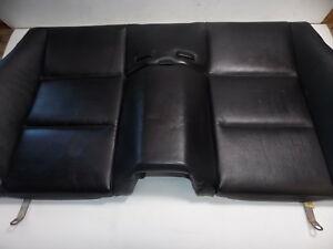 Bmw E46 Convertible Rear Seat Back Upper Black Oem 01 06 325ci 330ci