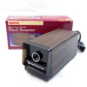Boston Hunt Heavy Duty Electric Pencil Sharpener