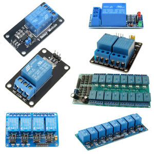 New 1 2 4 8 16 Channel Relay Module 5v Optocoupler Led For Arduino Pic Arm Avr