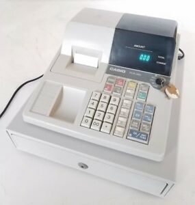 Casio Pcr 260 Electronic Cash Register With Keys