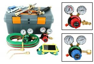 250 System Victor Type Gas Welding Cutting Kit Oxygen Torch Acetylene Welder