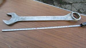 Huge 29 74cm Extra Long 70mm Gedore 1b Combination Spanner Used Germany o