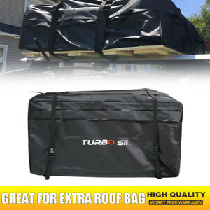 Update Waterproof Roof Top Cargo Carrier For Luggage Travel Car Storage Bag