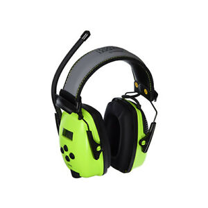 Howard Leight Sync Wireless Bluetooth Electronic Ear Muffs 25db Hi vis Green
