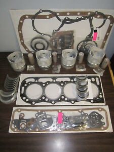 Ford Tractor Engine Kit 268 Diesel 6610 6710 4cyl