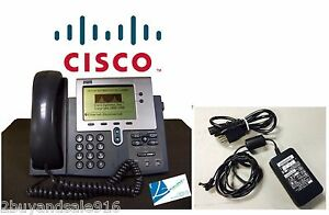 Cisco Cp 7940g 7940g Voip Poe Ip Business Phone W Handsets And Ac Adapter