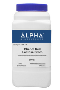 Phenol Red Lactose Broth p16 121