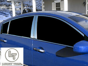 Stainless Steel Chrome Window Package Combo For Nissan Maxima 2004 2008 14pcs