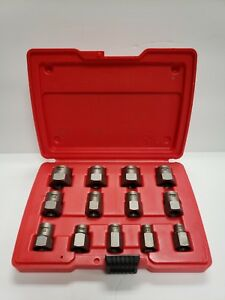 Snap on Bolt Extractor Set Bex13a In Case A y