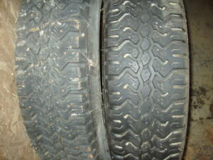 Centennial Snow Mud Tires 2 Ea P175 R14 Inch Like New 50 For Both