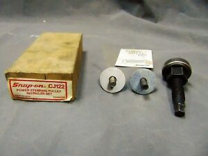 Professional Grade Snap on Cj122 Power Steering Pulley Installer Set Tool