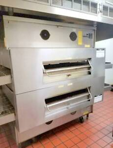Middleby Marshall Ps360wb70 4 Pizza Oven Double Stack Conveyor Oven Gas Fired