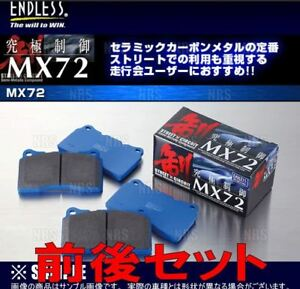 Endless Brake Pads Set Of F r For Nissan Gt r R35 Mx72 Plus From Japan