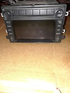 2007 Ford Expedition Cd Player Navigation Radio Oem