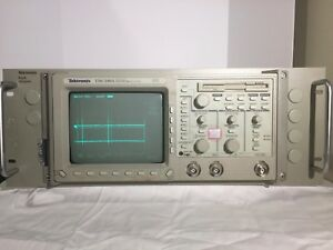 Tektronix Tds 340a Digital Oscilloscope With Rack Mount Included Made In Usa