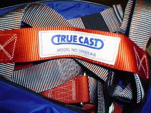 Safety Harness With Lanyard True Cast Unikit 4 6 Aerial Lift With Free Shipping