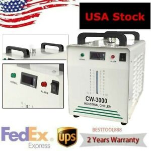 Cw 3000 Thermolysis Industrial Water Chiller For Laser Engraver Ac110v 60hz