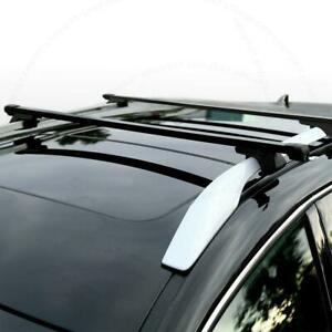 set Of 2 48 Universal Suv Roof Top Rail Rack Cross Bars Luggage Carrier