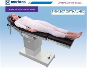 Electric Operating Ophthalmic Ot Table Surgical Operating Table Tmi 1207 Techno