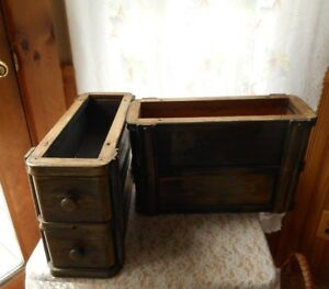 Vintage Singer Treadle Sewing Machine 4 Drawer With Frames