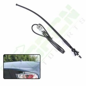 Flexible Rubber 16 Car Radio Am Fm Antenna With 4ft Extension Cable Universal