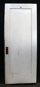 2 Available 30 X78 Antique Vintage Interior Solid Wood Wooden Door Single Panel