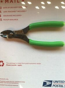 Snap On extreme Green Colored Wire Cutter Stripper And Crimper Pliers