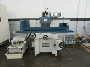 Kent Kgs 84ahd 3 axis Automatic Horizontal Surface Grinder With Incremental Down